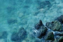 Mar Mediterráneo Imágenes de archivo libres de regalías
