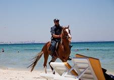 Mar Mediterráneo de Túnez de los Mounties foto de archivo