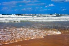 Mar Mediterráneo en una Tel Aviv Fotos de archivo