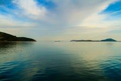 Mar Mediterráneo, Grecia Fotos de archivo