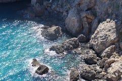 Mar Mediterráneo Turquía Foto de archivo