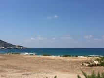 Mar Mediterrâneo Fotografia de Stock Royalty Free