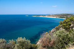 Mar Mediterrâneo Foto de Stock Royalty Free