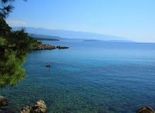 Mar Mediterrâneo Imagem de Stock