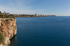 Mar Mediterrâneo de Antalya Fotografia de Stock Royalty Free