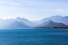 Mar Mediterrâneo de Antalya Foto de Stock Royalty Free