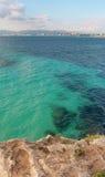 Mar Mediterrâneo de Majorca. Foto de Stock Royalty Free