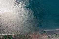 Mar Mediterrâneo e costa Fotografia de Stock Royalty Free