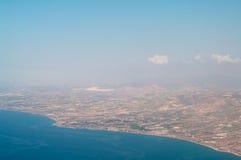 Mar Mediterrâneo e costa Imagem de Stock