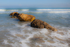 Mar Mediterrâneo Haifa Israel Imagem de Stock