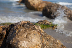 Mar Mediterrâneo Haifa Israel Fotografia de Stock Royalty Free