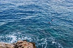 Mar Mediterraneo Immagini Stock Libere da Diritti