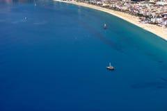 Mar Mediterraneo. Alanya, Turchia Immagine Stock Libera da Diritti