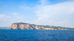 Mar Mediterraneo, baia di Napoli, Italia Immagini Stock