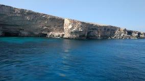 Mar Mediterraneo di Europa Fotografie Stock