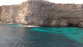 Mar Mediterraneo di Europa fotografia stock