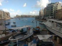 Mar Mediterraneo di Europa fotografie stock libere da diritti