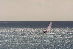 Mar Mediterraneo nuvoloso per navigare Fotografia Stock Libera da Diritti