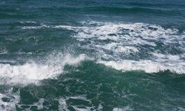Mar Mediterraneo ondulato Fotografia Stock