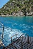 Mar Mediterraneo in Turchia Immagini Stock