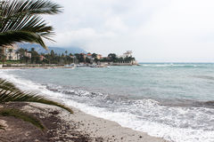 Mar Mediterraneo, Villefranche-sur-Mer Fotografie Stock Libere da Diritti
