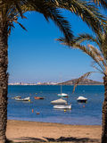 Mar Menor Holiday Seaside Resort Spain Stock Photos