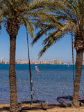 Mar Menor Holiday Seaside Resort Spain Royalty Free Stock Images