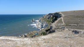 Mar, montanhas Fotografia de Stock Royalty Free