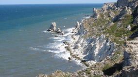 Mar, montanhas Foto de Stock