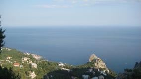 Mar, montanhas Imagens de Stock