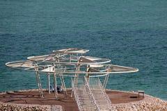Mar Morto Fotografia Stock Libera da Diritti