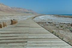 Mar Morto, deserto, israil fotografia stock