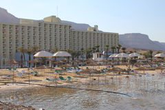 Mar Morto em Israel - Ein Bokek Fotos de Stock