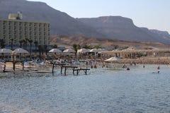Mar Morto em Israel - Ein Bokek Fotografia de Stock Royalty Free