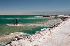 Mar Morto o dia foto de stock