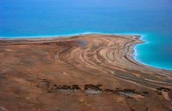 Mar Morto Shoreline Immagine Stock Libera da Diritti