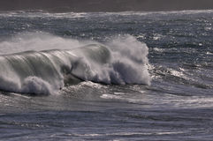 Mar movido Imagem de Stock
