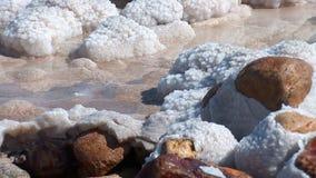Mar muerto almacen de metraje de vídeo