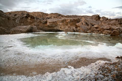 Mar muerto Fotos de archivo libres de regalías