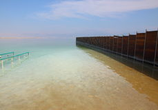 Mar muerto - centro del BALNEARIO Fotografía de archivo libre de regalías