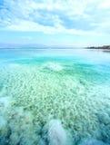 Mar muerto de Waterscape en Israel fotografía de archivo libre de regalías