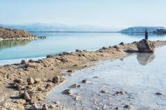 Mar muerto en Israel foto de archivo