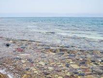 Mar muerto en Jordania Fotos de archivo