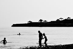 Mar muerto, Israel Fotos de archivo