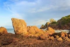 Mar na baía de Khung Viman Fotografia de Stock