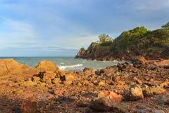 Mar na baía de Khung Viman Foto de Stock