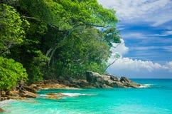 Mar na ilha de Tachai Foto de Stock Royalty Free
