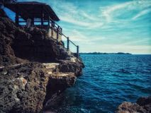 Mar, naturaleza, azul, isla imagen de archivo libre de regalías
