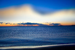 Mar Nero che il nuovo giorno comincia Immagine Stock Libera da Diritti