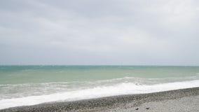 Mar Nero durante la tempesta video d archivio